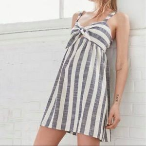 Urban Outfitters Cooperative Tie Front Sun Dress